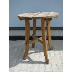 Stół drewniany okrągły S-