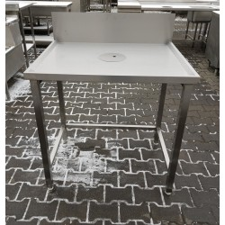 Stół z Otworem na Odpady  90/70/85 cm M N