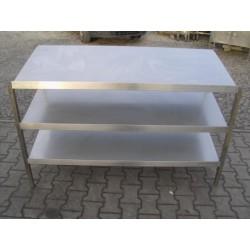 Stół / Regał Gastronomiczny 150/60/100 cm PROMOCJA ŁJ-218